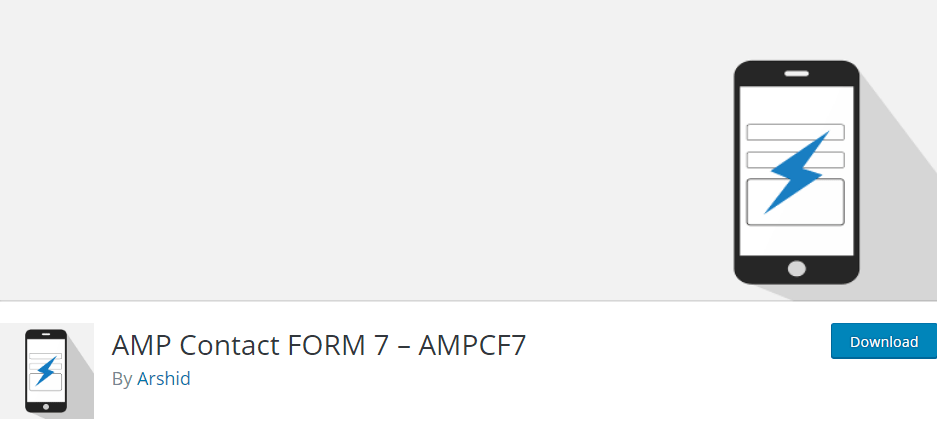 AMP Contact FORM 7 – AMPCF7 is a best AMP WordPress plugin