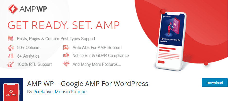 AMP WP – Google AMP For WordPress