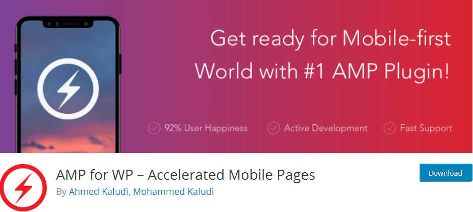 AMP for WP – Accelerated Mobile Pages