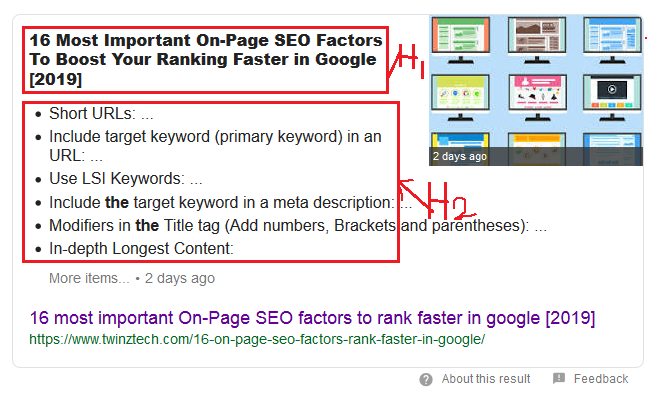 16 most important On-Page SEO factors to rank faster in google [2019]