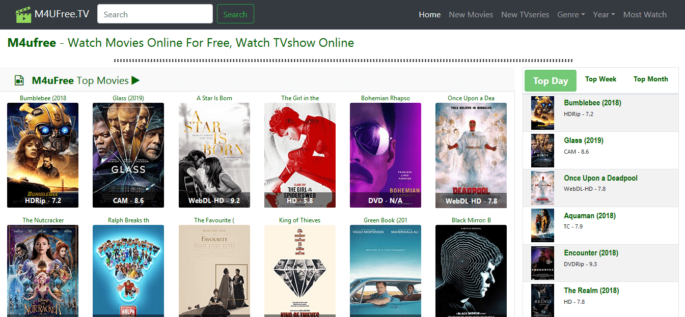 m4ufree tv download