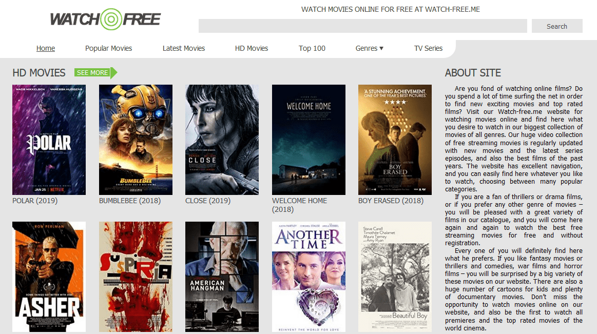 watch free streaming movies online without ads