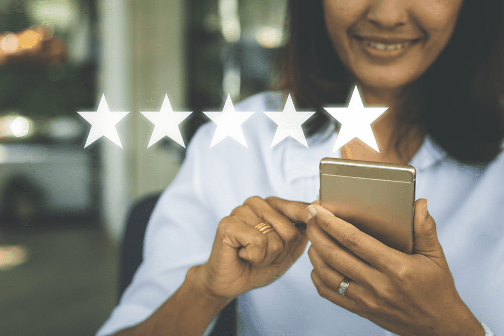 Share customer reviews