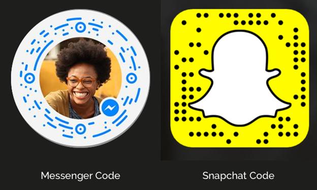Messenger Scan Codes
