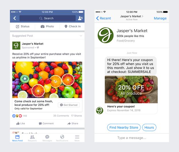Sponsored messages-Facebook Ad Bots
