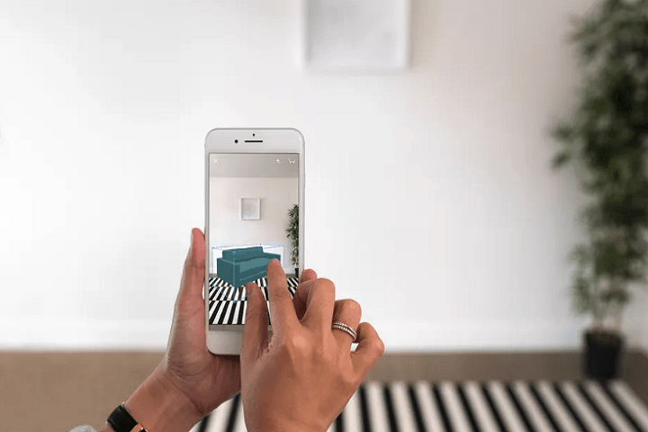 use AR for interior design