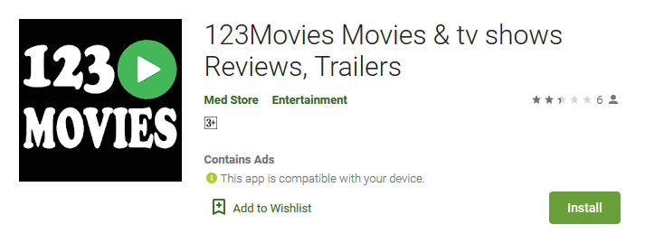 Movies123 tv shows Reviews, Trailers Apps on Google Play