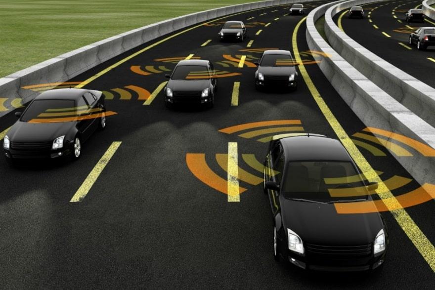 Vehicle to vehicle communication (V2V)