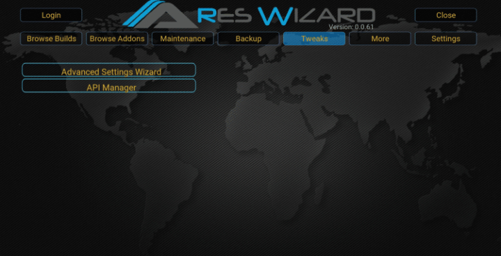Kodi Ares Wizard (bit.ly/getbuildpin)