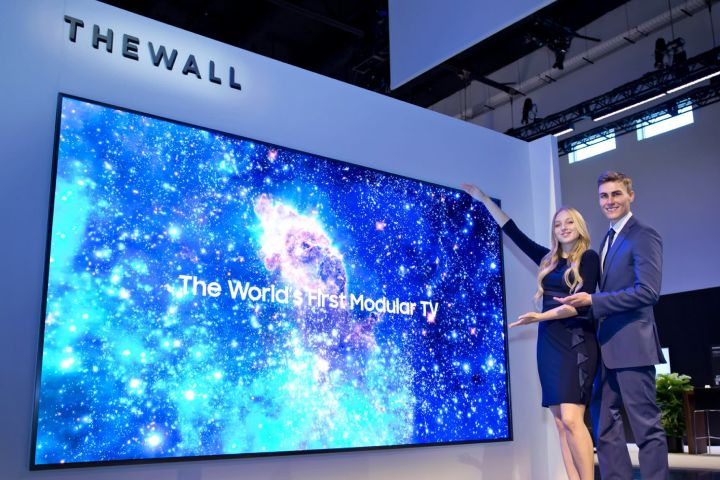 Samsung's The Wall MicroLED