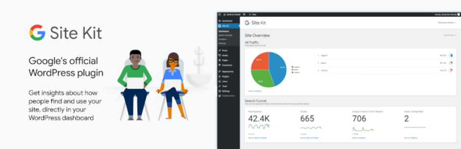 Site Kit WordPress Plugin by Google