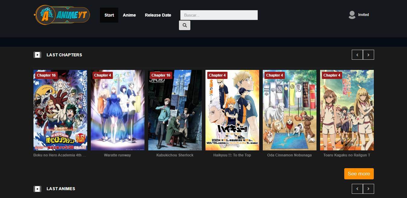 Animeyt is one of the best alternatives of AnimePlanet