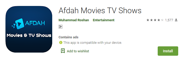 Afdah Movies TV Shows Apps on Google Play