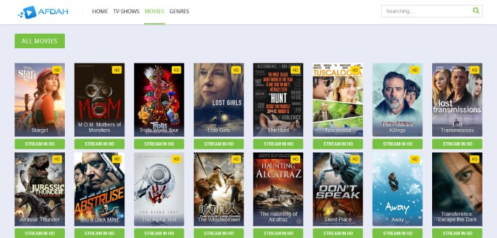 afdah free movies and TV shows