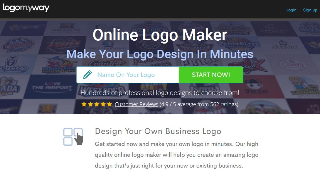 logomyway online logo maker