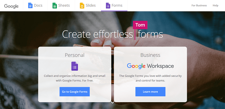Google Forms Free Online Surveys for Personal Use