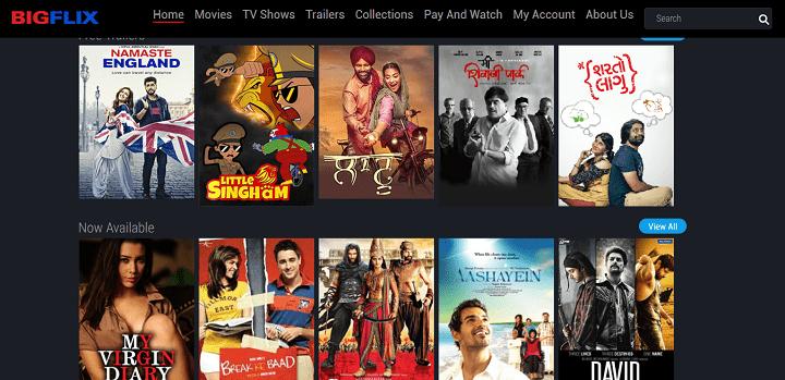 BIGFLIX - Watch Movies Online Hindi Movies Tamil Movies Telugu Movies TV Shows