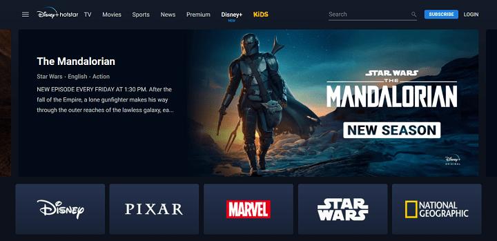 Disney+ Hotstar - Watch TV Shows, Movies, Live Cricket Matches News Online