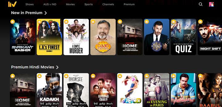 SonyLIV Premium - Watch English TV Shows, Hollywood Movies, Live TV Online