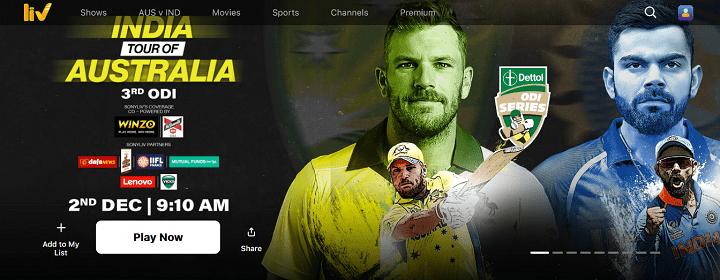 SonyLIV - Watch Indian TV Shows, Movies, Sports, Live Cricket Matches, Web Originals