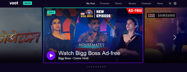 VOOT - Watch Free Online TV Shows, Movies, Kids Shows HD Quality on VOOT Keep Vooting