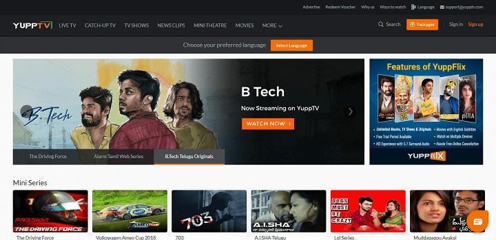 Watch Indian TV Shows Online - Einthusan Alternatives