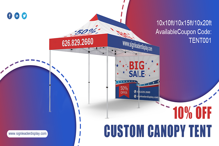 The Ultimate Guide to Custom 10x10 Canopy Tents for Events